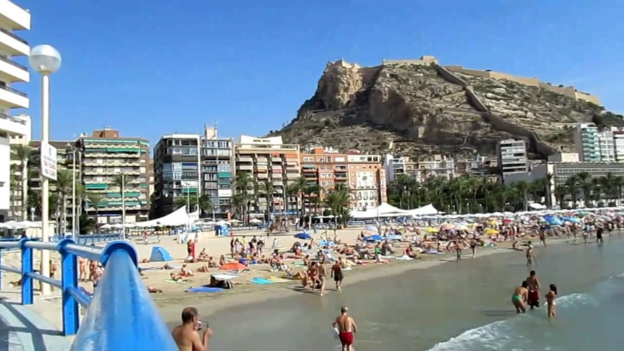 Castillo De Santa B 225 Rbara Playa Del Postiguet Alicante