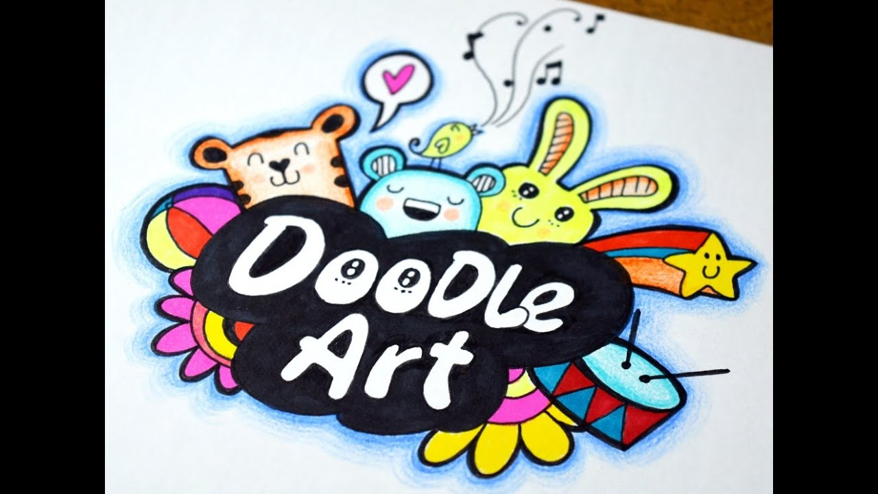 Doodle art how i doodle youtube for How to make doodle art
