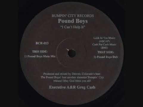 Pound Boys - I Can't Help It (Pound Boys Main Mix)