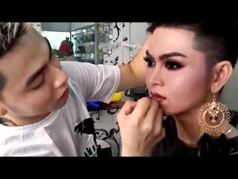 Live bridal makeup boy to girl