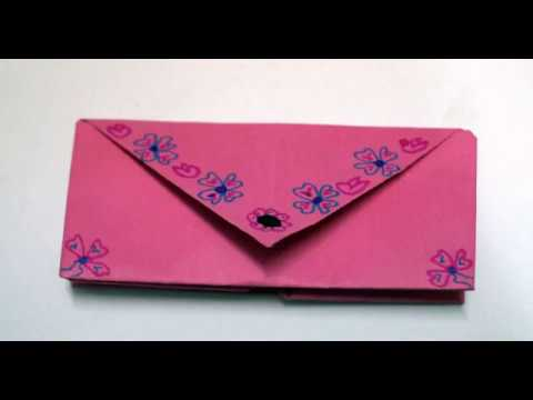 How To Make An Origami Purse Youtube