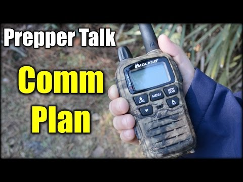 Prepper Talk: Do you Really Need a Communication Plan?