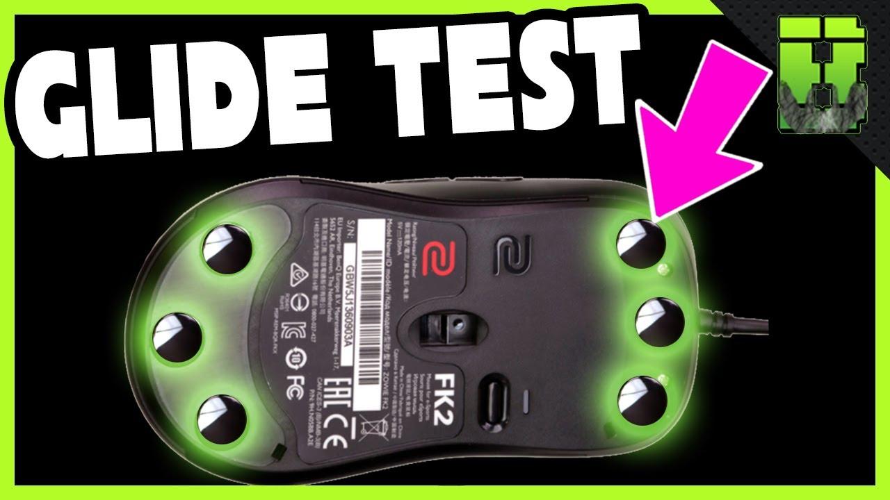 Ceramic Mouse Feet Lexip on Logitech G640 vs Steelseries Qck vs MP510 vs  Zowie GSR SE Divina