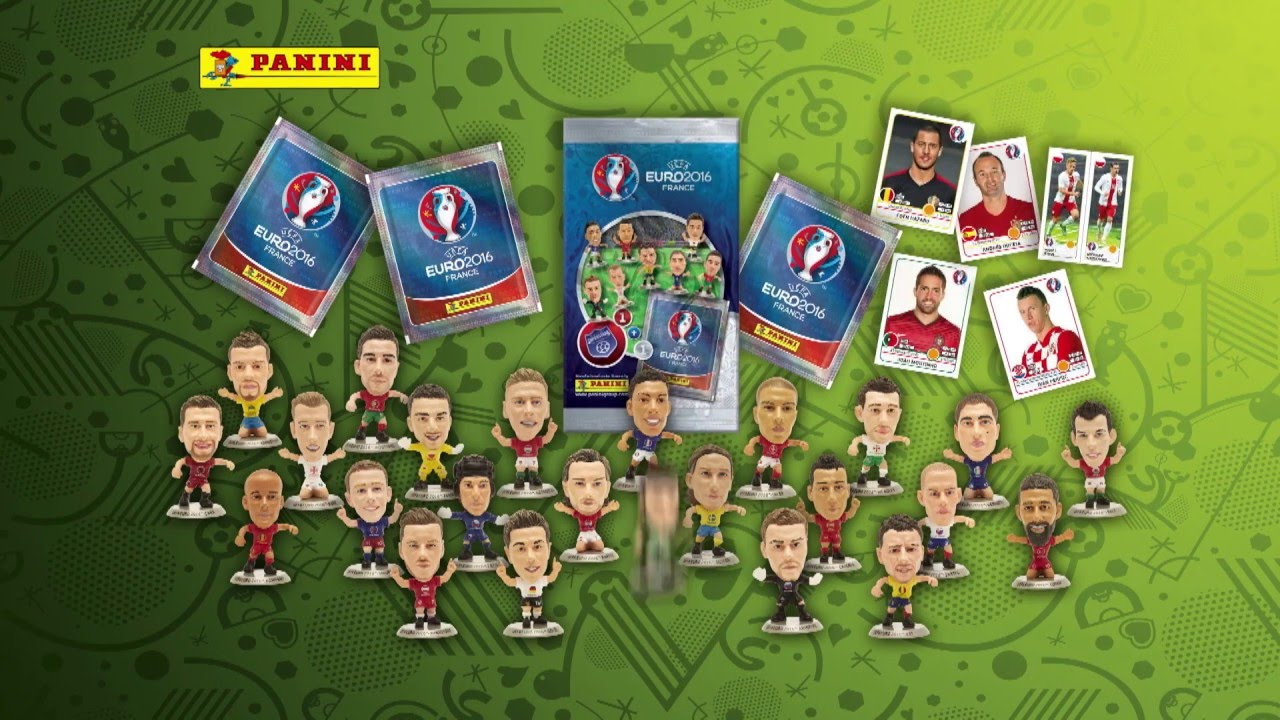 UEFA EURO 2016™ Official Sticker Album - figurki - YouTube 22f7ac1f49764
