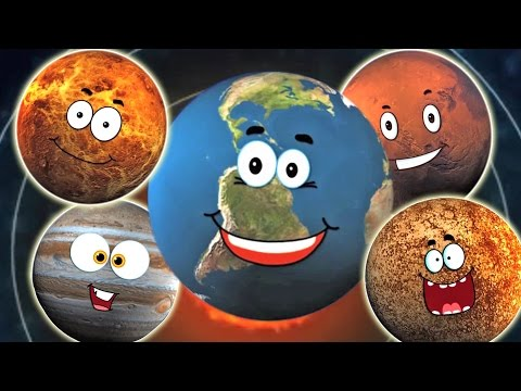 Planet Song | Preschool Rhymes | Solar System Song for Kids