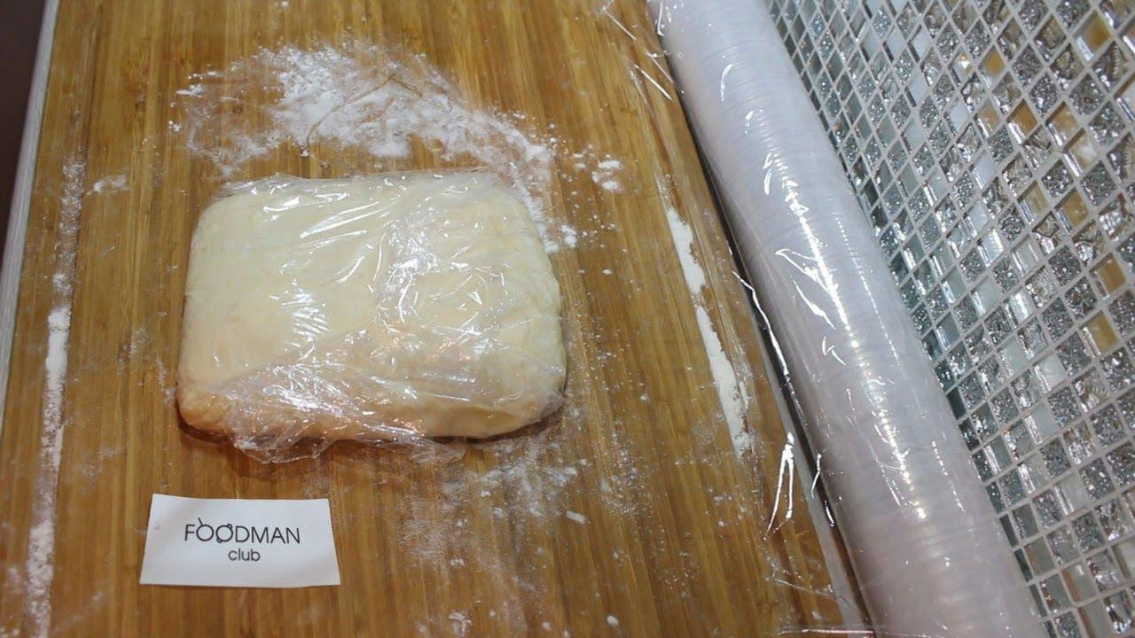 слоеное тесто на растительном масле рецепт фото почитал