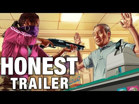 GRAND THEFT AUTO ONLINE (Honest Game Trailers)