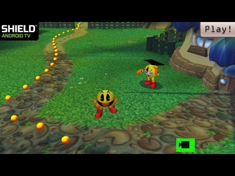 Play! PS2 Emulator For Android - Pac-Man World 2 Ingame (Shield Android TV)