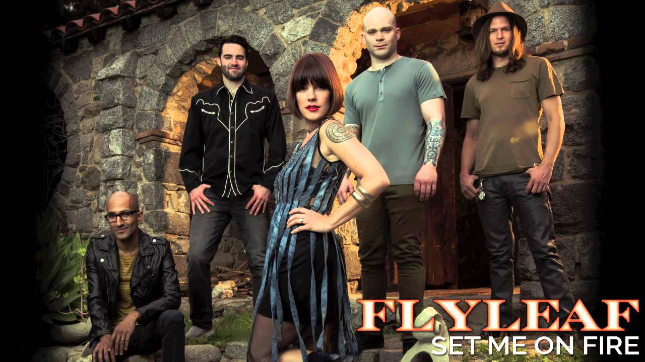 Flyleaf Set Me On Fire Audio Youtube