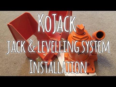 KoJack - Jack & Levelling system -  Installation onto a caravan