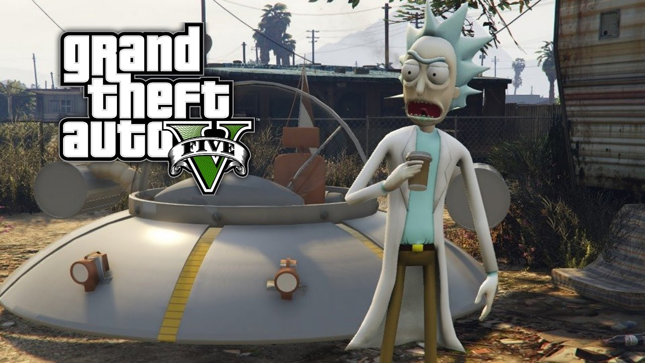 Rick and Morty GTA V Mod is All We've Ever Wanted | Den of Geek