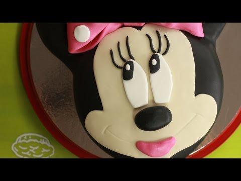 Minnie Mouse, Jak zrobić śliczny tort Myszki Minnie?