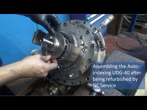 Assembling The Auto Indexing UDG-40 After Being Refurbished By Nicolás Correa Service