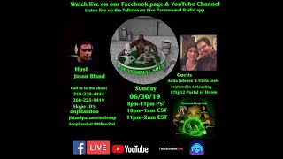 Paranormal Soup ep 184 guests Anita Intenzo & Chris Levis