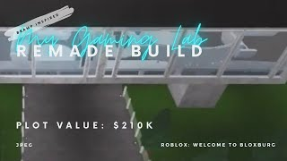 My Gaming Lab (Inspired by BramP) || House Value: 210k || Welcome to Bloxburg || Roblox Rebuild