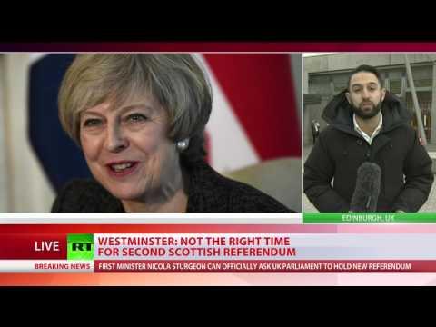 Scottish Parliament backs bid to hold 2nd independence referendum