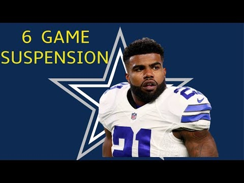 NEWS ALERT: Cowboys Star Ezekiel Elliott Suspended for 6 Games