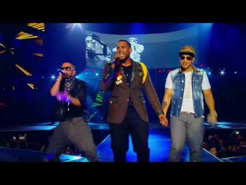 MAYOR QUE YO EN VIVO Don Omar y Daddy Yankee  Yandel