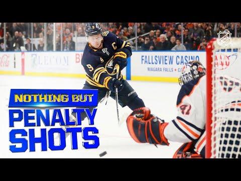 Nothing But Penalty Shots!   2019-20 NHL Season