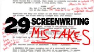 29 Screenwriting Mistakes