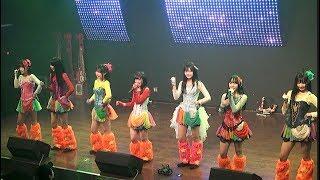 【2018年12月17日】仮面女子カフェ2部公演の新生スチームガールズ (黒...