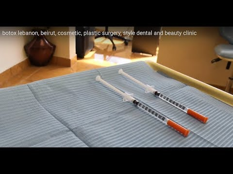 botox lebanon, beirut, cosmetic, plastic surgery, style dental and beauty clinic 009613379355
