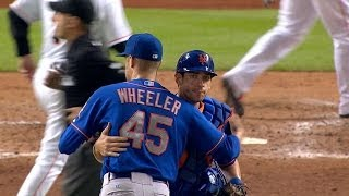 NYM@MIA: Wheeler tosses first career shutout