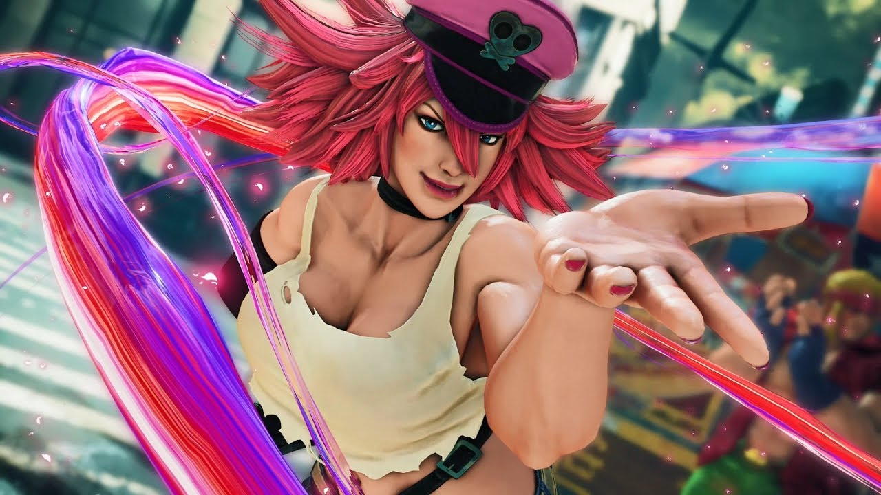 Street Fighter V Arcade Edition Poison Gameplay Trailer Youtube