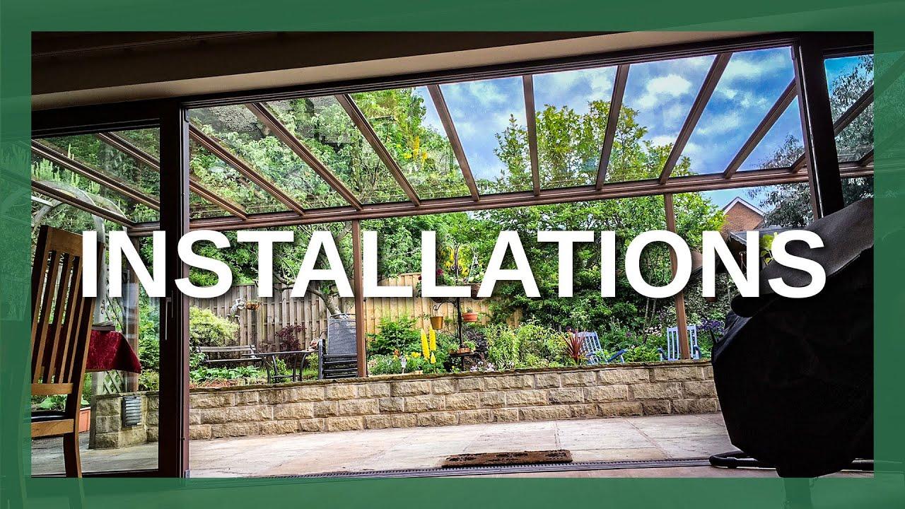 Samson Awnings Glass Veranda Installations - YouTube