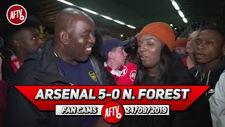 Arsenal 5-0 Nottingham Forest | Tierney Looks Better Than Kolasinac! (Pippa Monique)