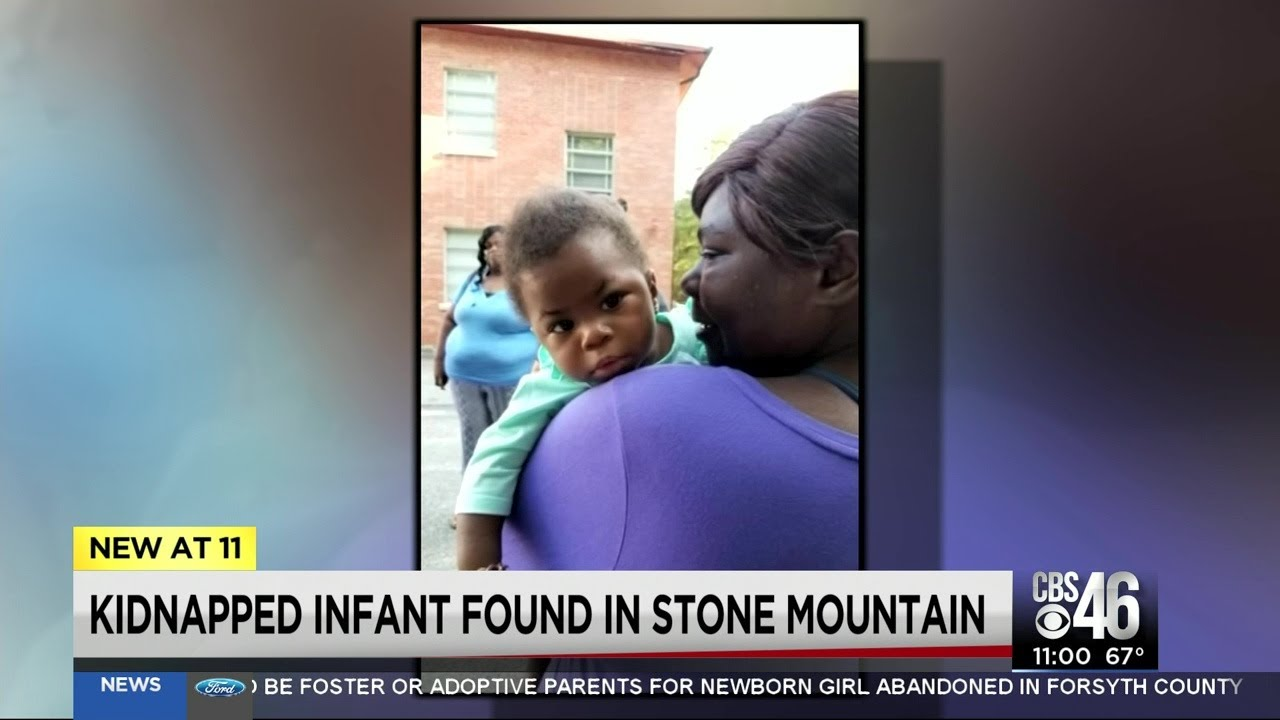 Kidnapped baby reunited with mother in Stone Mountain