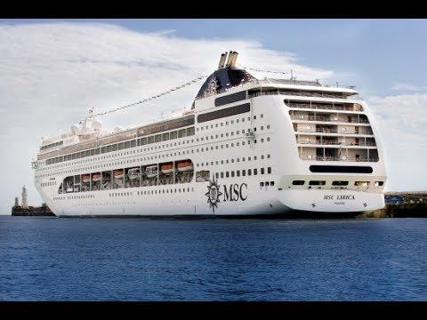 MSC Lirica departing from Dubai Port 2017 | MSC Cruises 2017