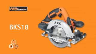 AEG POWERTOOLS Introduces PRO Lithium ion technology