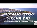 Sirena bay Protaras, Cyprus from above | Drone footage with the DJI Phantom 3 Standard