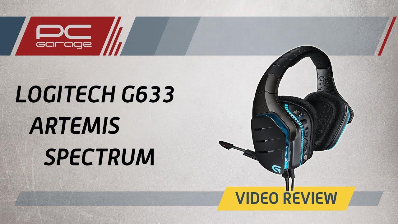 Video Review Casti Gaming Logitech G633