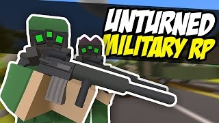 SEATTLE IS UNDER ATTACK - Unturned RP (Military Roleplay)