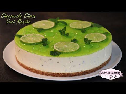 recette-de-cheesecake-citron-vert-menthe
