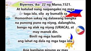 ITINAGONG KASAYSAYAN NG PILIPINAS