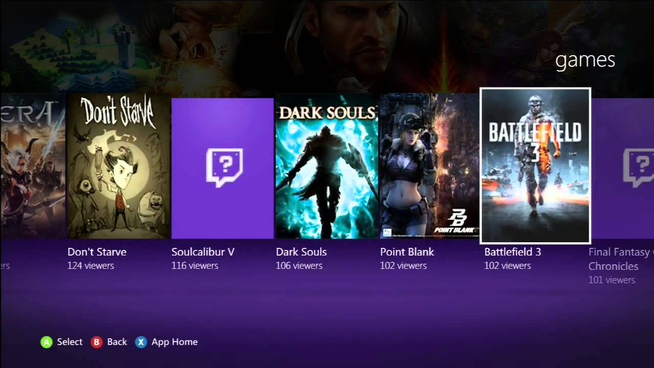 TWITCH TV APP REVIEW FOR XBOX 360