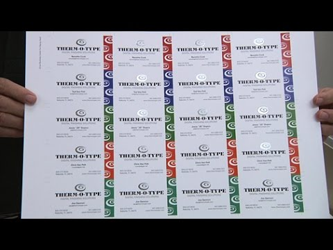 NSF Excel - Step And Repeat Foil Stamping - THERM-O-TYPE Corp