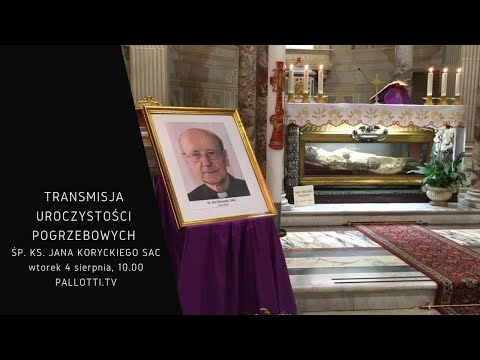 Transmisja uroczystości pogrzebowych śp. ks. Jana Koryckiego SAC