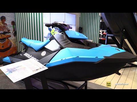 2017 Sea Doo Spark Jet Ski - Walkaround - 2017 Montreal Boat Show