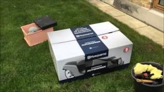 Husqvarna Automower® installation og første tur