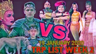 Sony Sub Serial TRP List | This Week TRP List | Top 7 Serial in TRP List | Week 2 TRP LIST 2020
