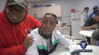 K SHINE AFTER HIS FACE OFF WITH GEECHI GOTTI AT SMACK URL'S VOLUME 3