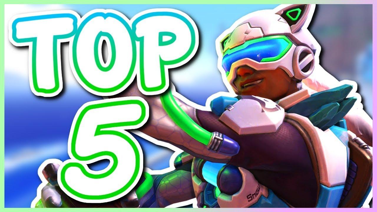 Overwatch - TOP 5 WEIRDEST SKINS IN OVERWATCH thumbnail