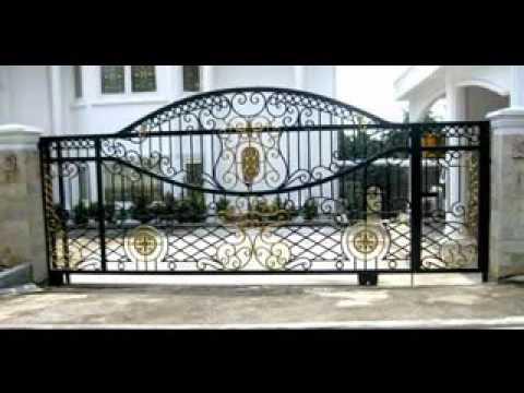 Luxury house fence youtube for Luxury fences