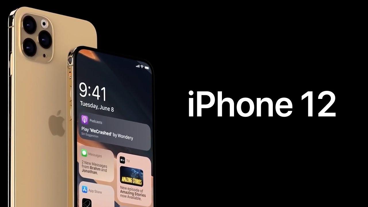 Новый iPhone 12 (iPhone 12 Pro, iPhone 12 Pro Max)