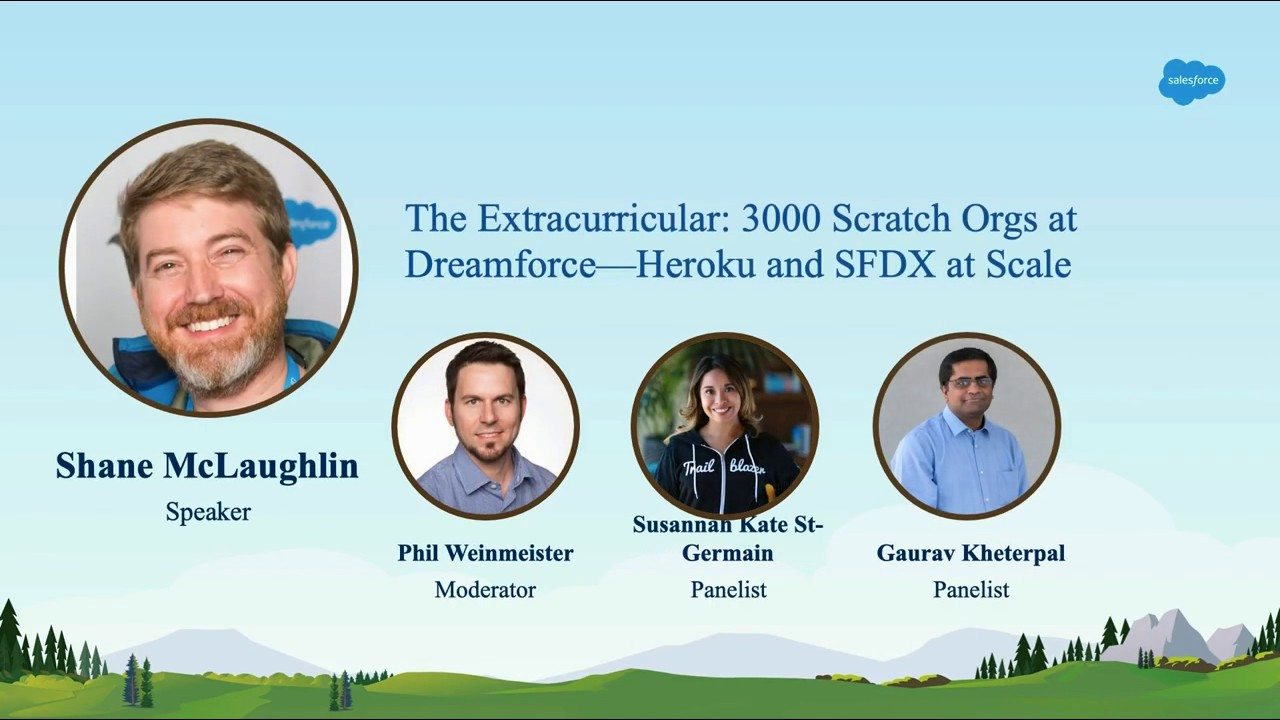 The Extracurricular: 3000 Scratch Orgs at Dreamforce: Heroku and SFDX at  Scale