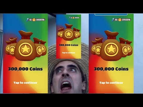 Three Super Jackpots On Subway Surfers!